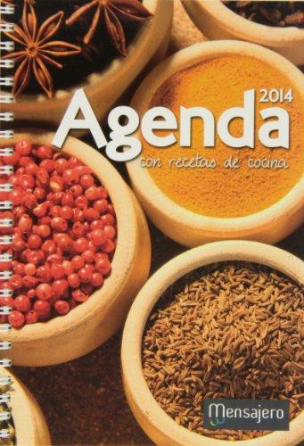 Agenda 2014 con recetas de cocina: Aa.Vv