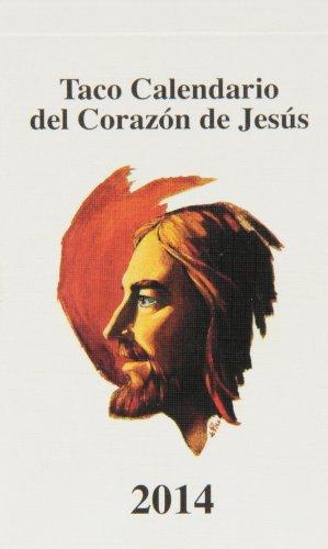 9788427134959: Taco calendario del Corazón de Jesús clásico 2014