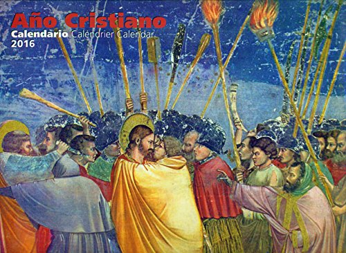 9788427136069: Calendario de pared 2016 : Año cristiano