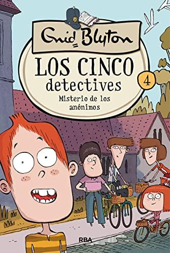CINCO DETECTIVES 4 MIST. DE LOS ANONIMOS