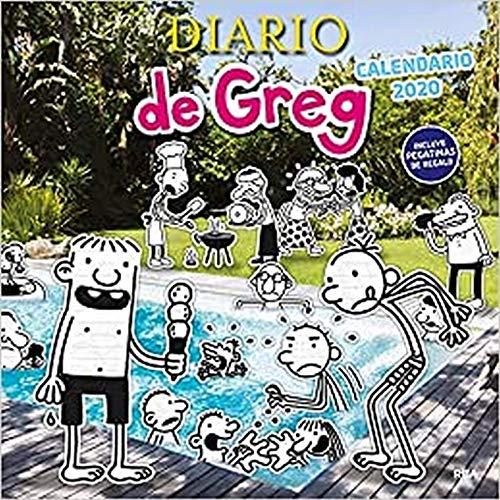 9788427216464: Calendario de Greg 2020 (DIARIO DE GREG)