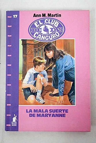 9788427236677: Mala Suerte De Mary Anne (Spanish Edition)