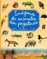 9788427260313: Imágenes de animales con pegatinas. Cuaderno 1 (NO FICCION)
