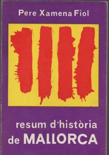 9788427302365: Resum d'història de Mallorca (Biblioteca