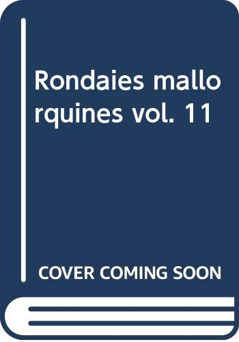9788427304000: Aplec de Rondaies mallorquines 24 volums: Rondaies mallorquines vol. 11