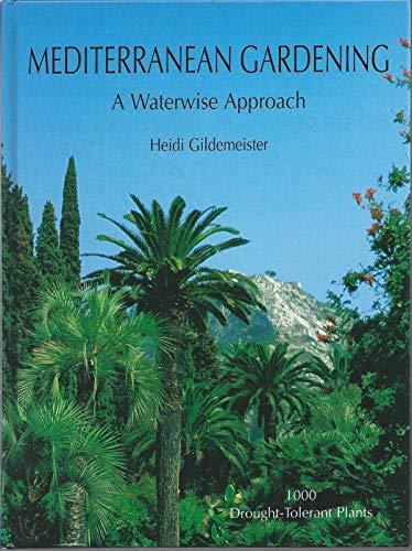9788427307490: Mediterranean Gardening: A Waterwise Approach
