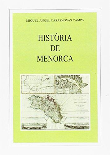 9788427340565: Història de Menorca (Els Treballs i els Dies)