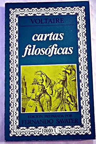 Cartas filosóficas. Edición preparada por Fernando Savater.: VOLTAIRE.-