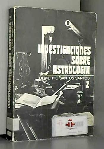 9788427604582: Investigaciones sobre astrologia (Ritmo universitario) (Spanish Edition)