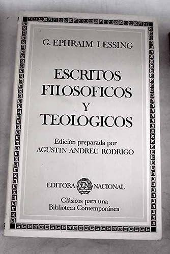 9788427605640: Escritos filosoficos y teologicos