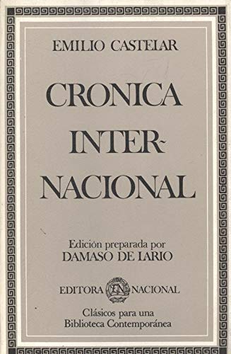 9788427605794: Cronica internacional