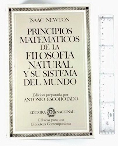 9788427605930: Principios matemáticos de la filosofía natural