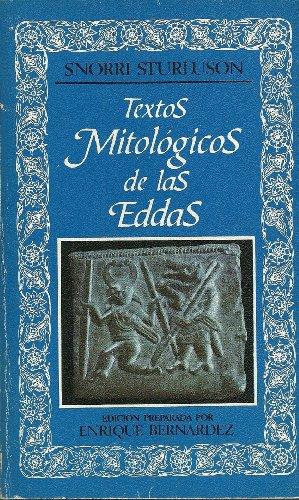9788427606289: TEXTOS MITOLÓGICOS DE LAS EDDAS