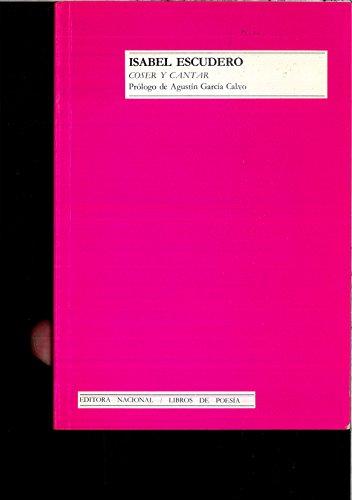 9788427606654: Coser y cantar (Libros de poesía) (Spanish Edition)
