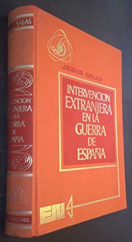 Intervención extranjera en la guerra de España: Salas Larrazábal, Jesús