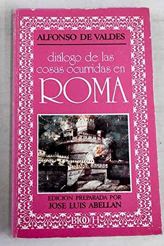 9788427612563: Diálogo de las cosas ocurridas en Roma