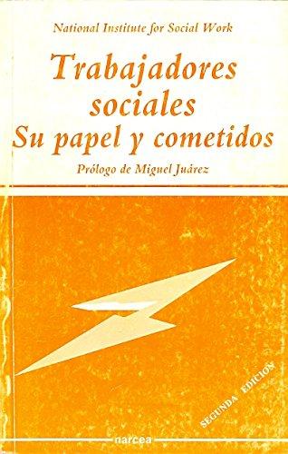 9788427710023: Trabajadores sociales: Su papel y cometidos (Sociocultural)