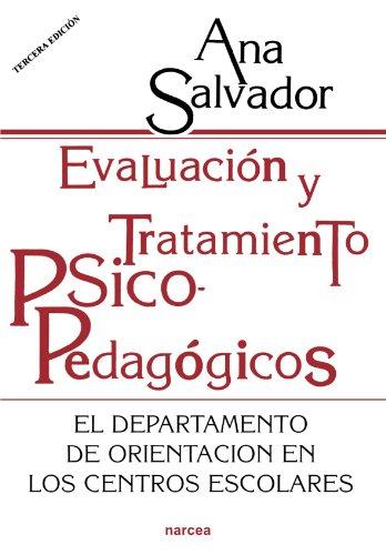 9788427710375: Evaluación y tratamiento psicopedagógicos: El Departamento de orientación en los Centros escolares (Educación Hoy)