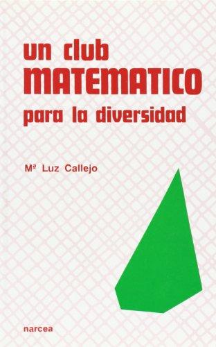 9788427710702: un club Matematico para La Diversidad (Secundaria para Todos)