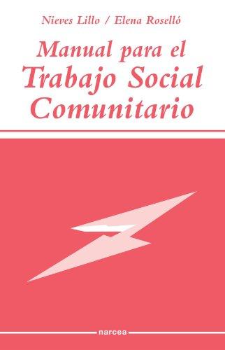 9788427713543: Manual Para El Trabajo Social Comunitario (Spanish Edition)