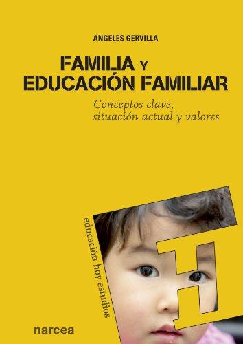 FAMILIA Y EDUCACIÓN FAMILIAR: GERVILLA CASTILLO, ÁNGELES