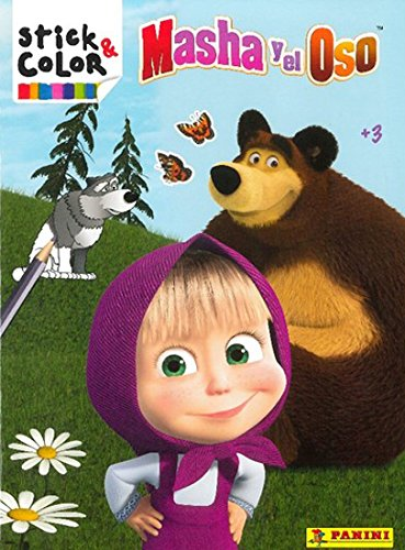 9788427869134: STICK & COLOR: MASHA Y EL OSO