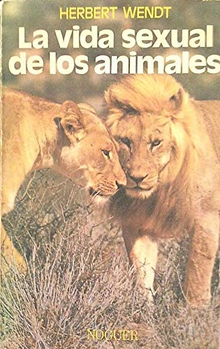 9788427908499: La vida sexual de los animales.