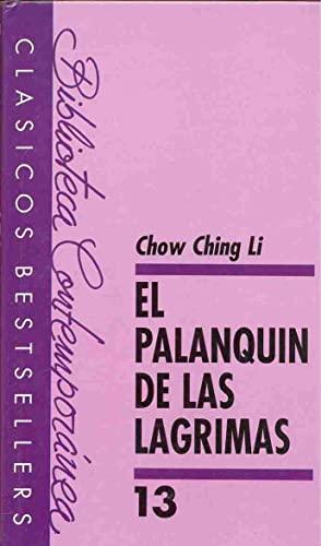 9788427908680: El Palanquin de las Lagrimas