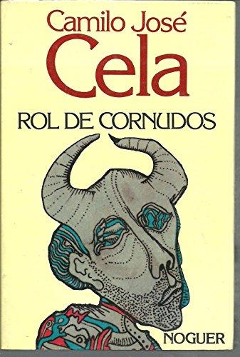 9788427911628: Rol de cornudos (Galería literaria contemporánea) (Spanish Edition)