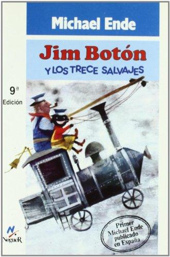 9788427933057: Jim boton y los trece salvajes (Noguer Historico)