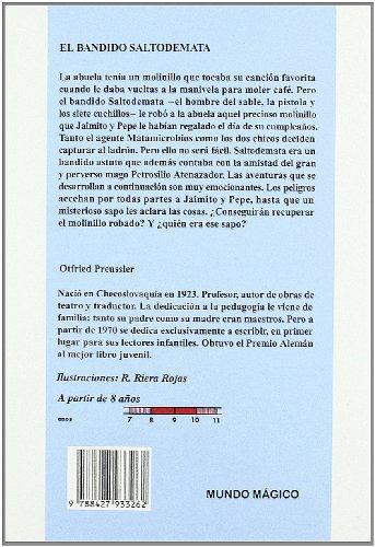 9788427933262: El Bandido Saltodemata/ The Robber Hotzenplotz (Spanish Edition)
