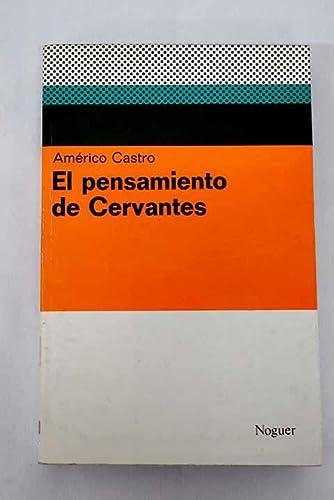 9788427951013: EL PENSAMIENTO DE CERVANTES