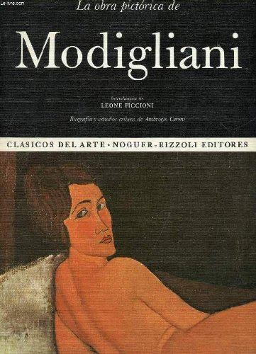 9788427987265: La obra pictórica de Modigliani