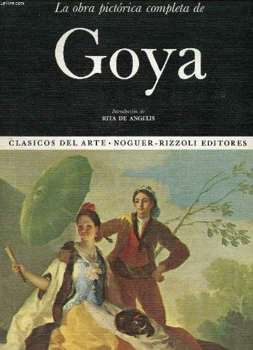 9788427987531: LA OBRA PICTORICA COMPLETA DE GOYA