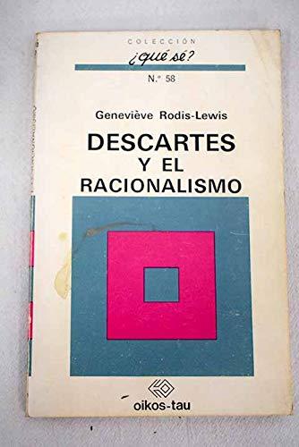 9788428100014: DESCARTES Y RACIONALISMO.