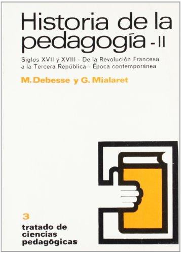 9788428102643: Historia de La Pedagogia II (Spanish Edition)