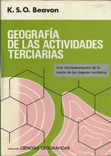 GEOGRAFIA ACTIVIDADES TERCIARIAS: Keith S. O.