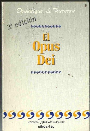 9788428105804: El Opus Dei (Spanish Edition)