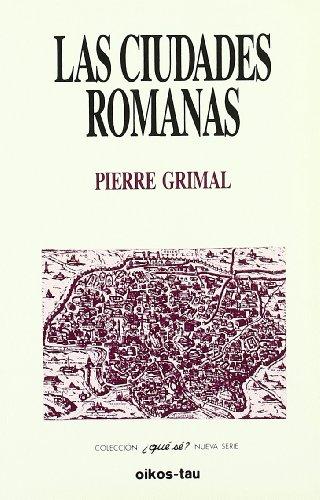 9788428107310: Las Ciudades Romanas (Spanish Edition)