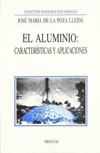 El aluminio: características y sus aplicaciones: José María de