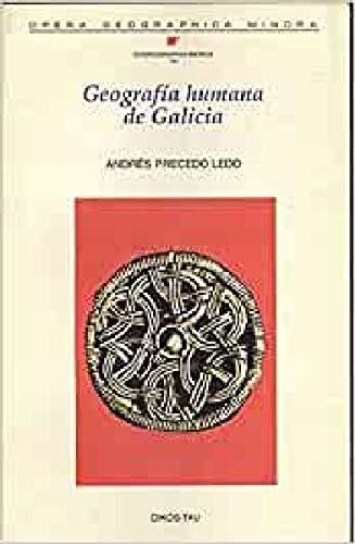 9788428109482: Geografía humana de Galicia