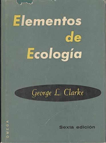 9788428201599: Elementos de Ecologia