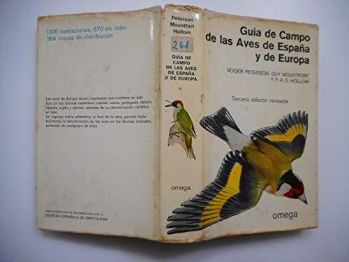 9788428203340: Guía de campo de las aves de España y de Europa