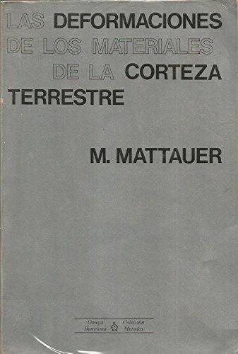 9788428204408: DEFORM.MATERIALES CORTEZA TERRESTRE (FUERA DE CATALOGO) (Spanish Edition)