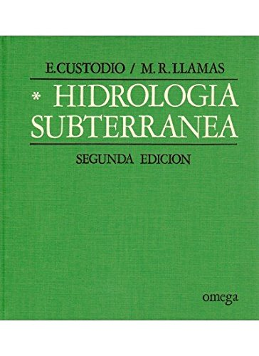 9788428204477: HIDROLOGIA SUBTERR.TOMO I (GEOLOGÍA Y GEOGRAFÍA-HIDROLOGÍA)