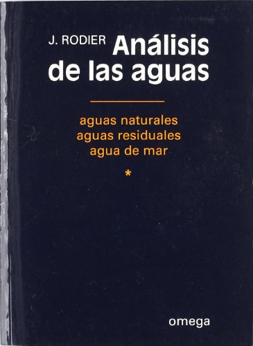 9788428206259: *ANALISIS DE LAS AGUAS: ANALYSE DE L'EAU 1/2 (CIENCIAS BIOLOGICAS)
