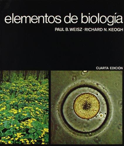 ELEMENTOS DE BIOLOGÍA: WEISZ / KEOGH