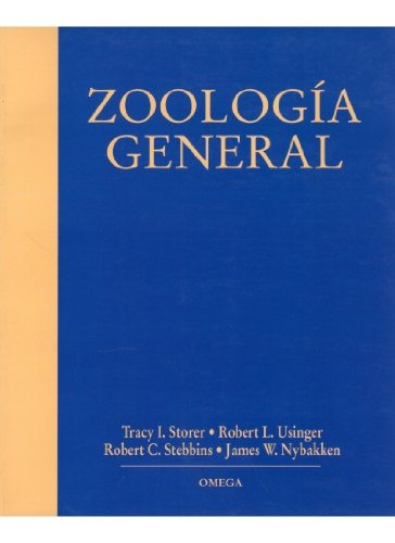 Zoologia General - 6b: Edicion (Spanish Edition): Robert Stebbins, Tracy