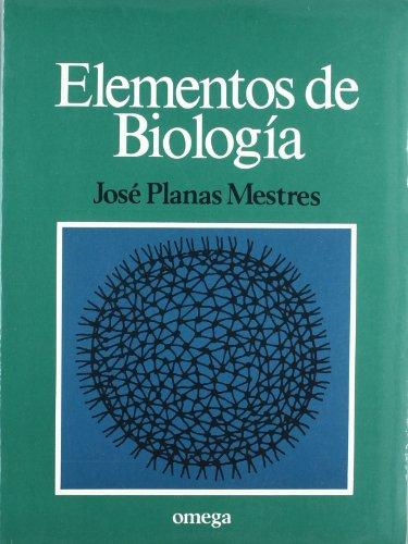 9788428207034: ELEMENTOS DE BIOLOGIA (BIOLOGIA GENERAL)