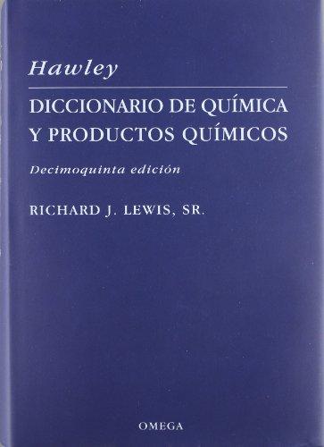 Diccionario De Quimica: Y De Productos Quimicos: N. Irving Sax,